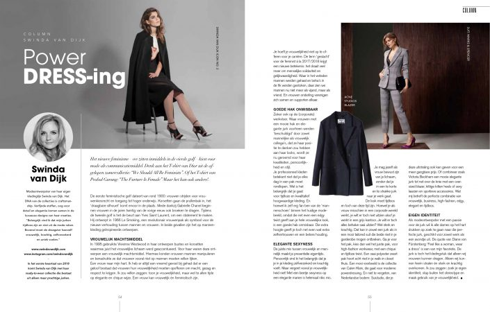 Column TULP Magazine October 2017
